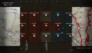 HLL Server Maps